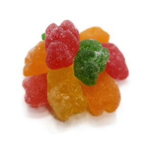 Sweeties - sour gummy bears pieces