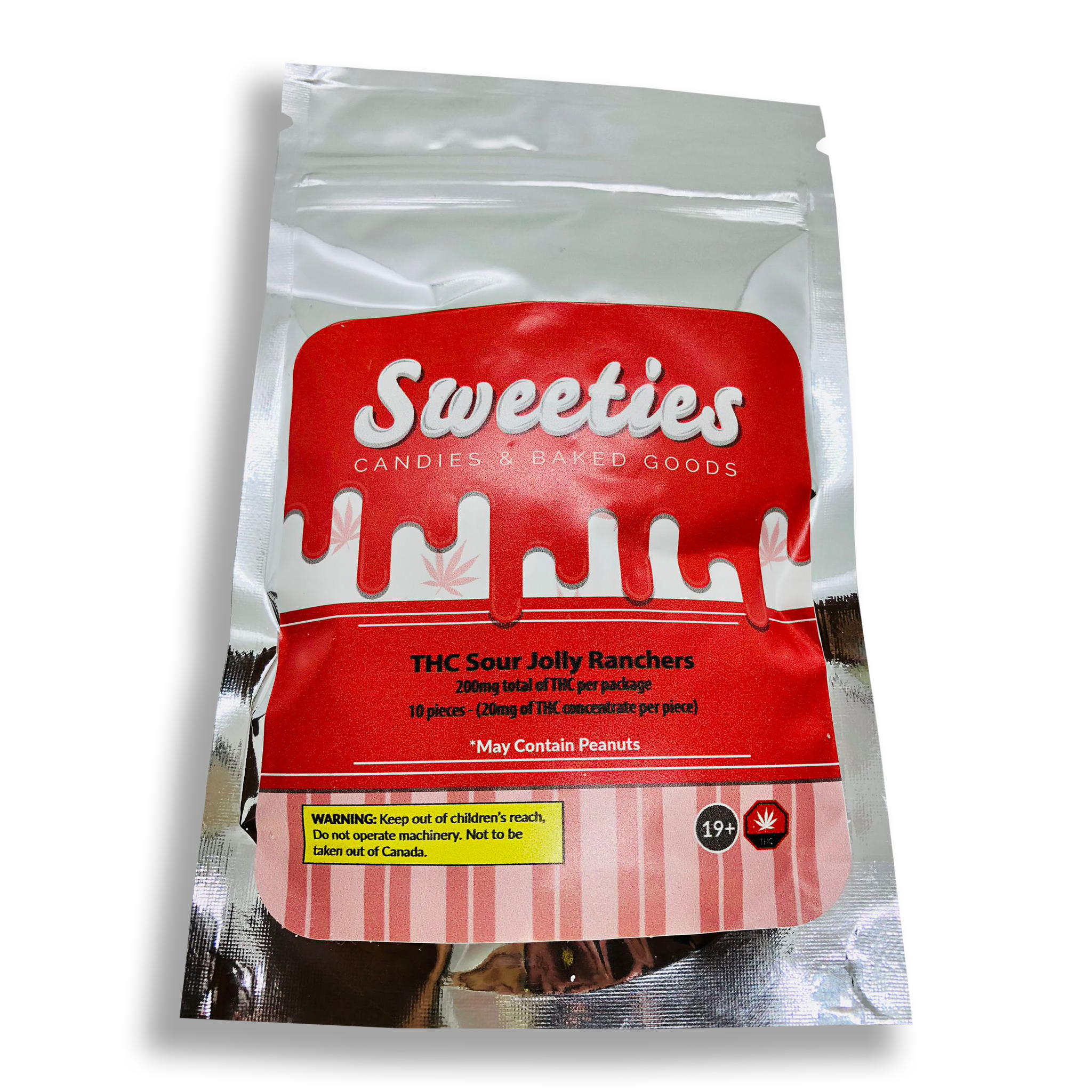 Sweeties 200mg thc sour jolly ranchers